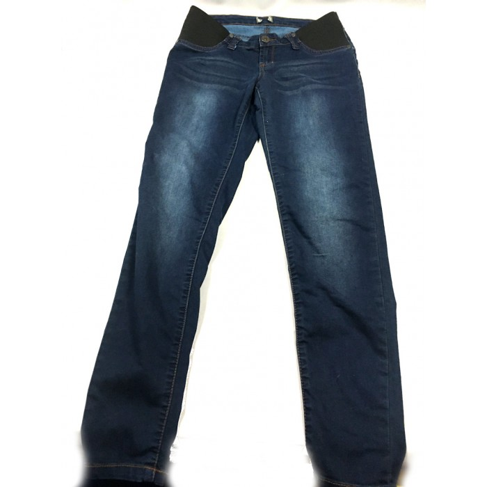 jeans skinny maternité thyme / xsmall