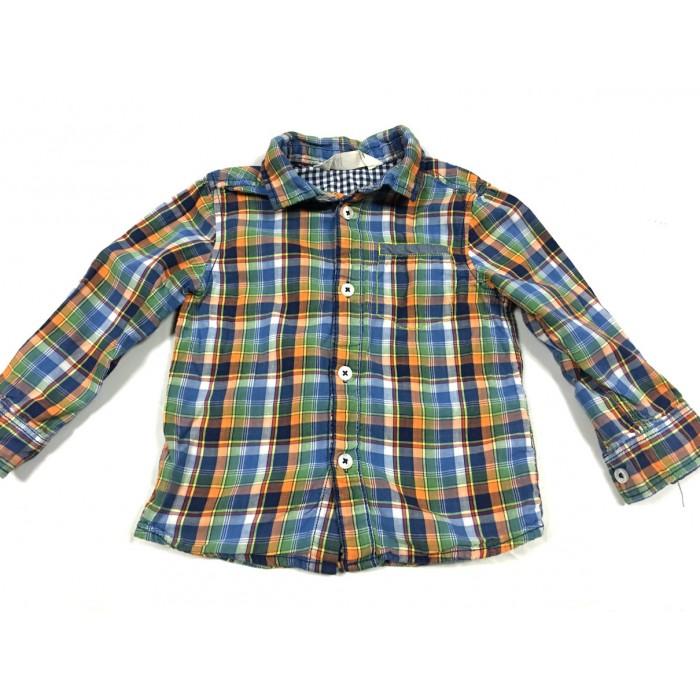 chemise carreaux / 1 1/2 - 2 ans