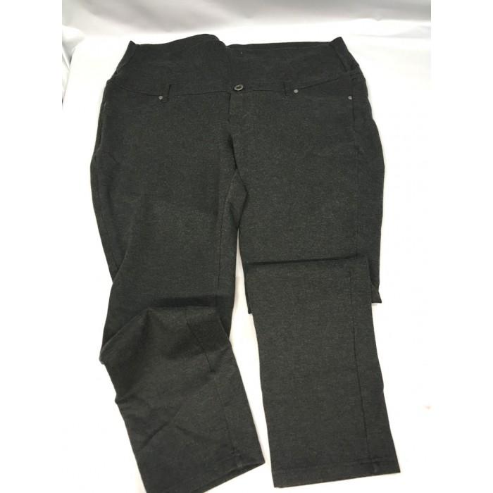 pantalon stretch gris maternité / 2Xlarge