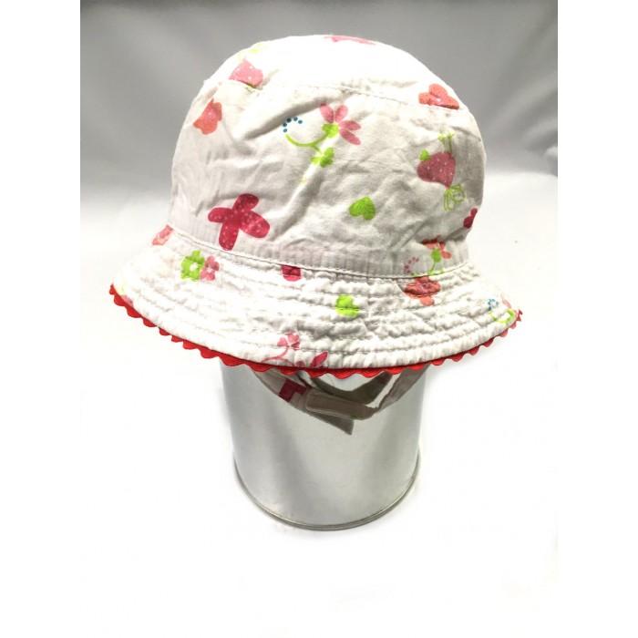 chapeau fleurs / 12-24 mois