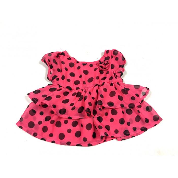 robe chic rose / 0-3 mois