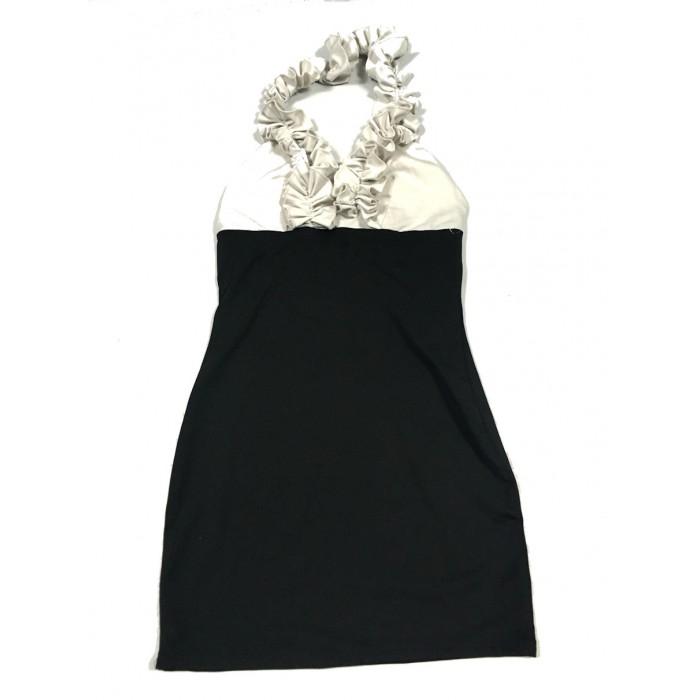robe chic noir / 12-14 ans