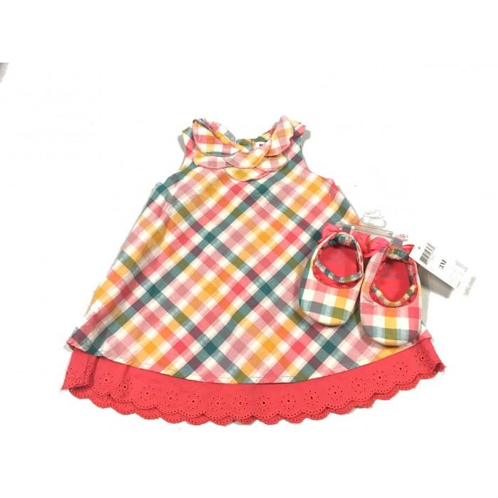 robe et soulier mexx / 3-6 mois