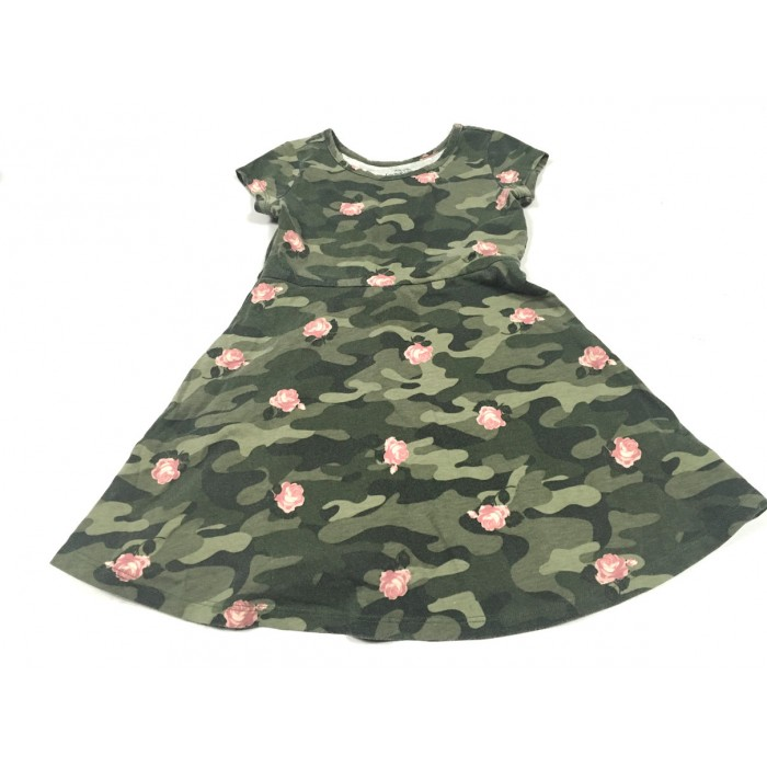 robe camouflage / 4-5 ans