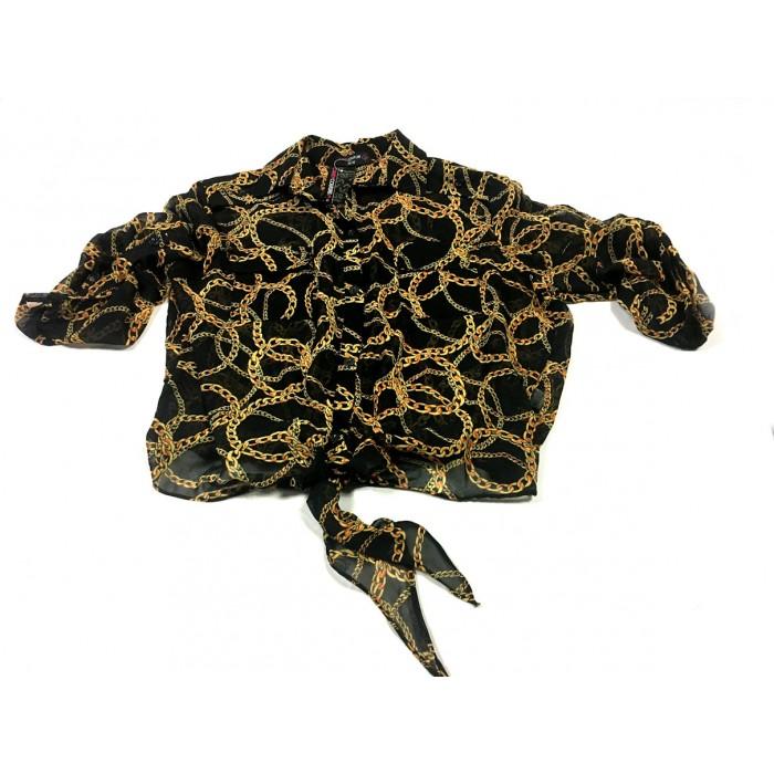 blouse noir et or  / XLarge