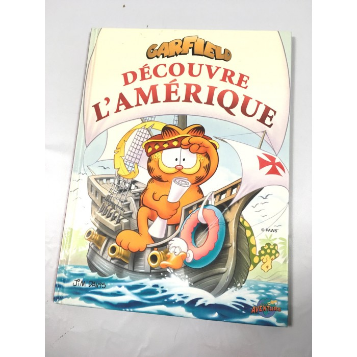 livre BD Garfield