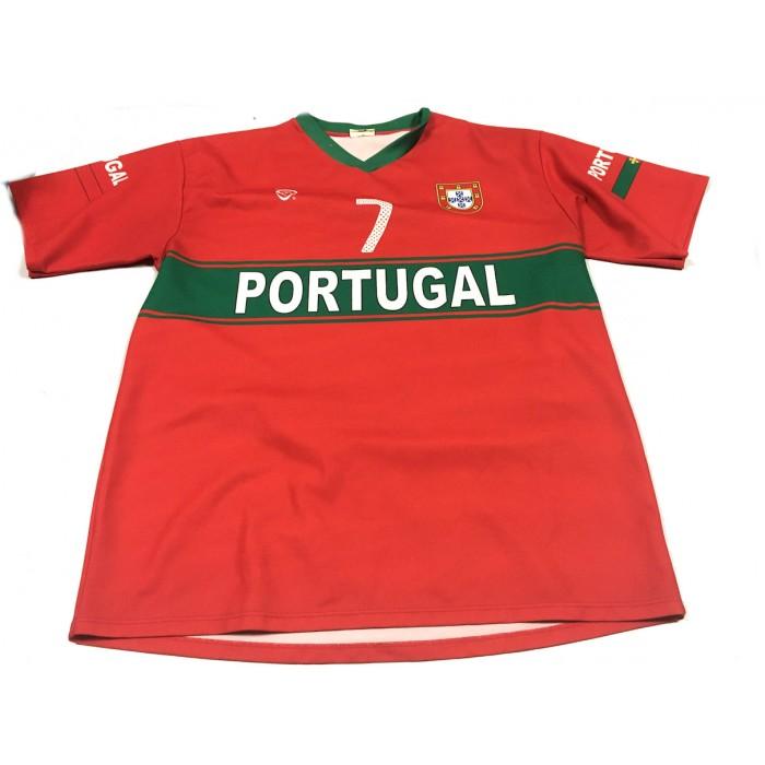 chandail sport soccer ronaldo / 14-16 ans