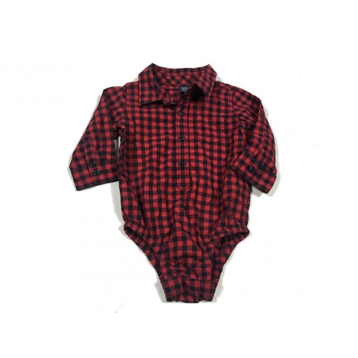 cache couche chemise / 6-12 mois