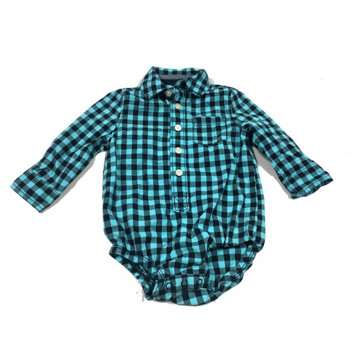 cache couche chemise / 9-12 mois