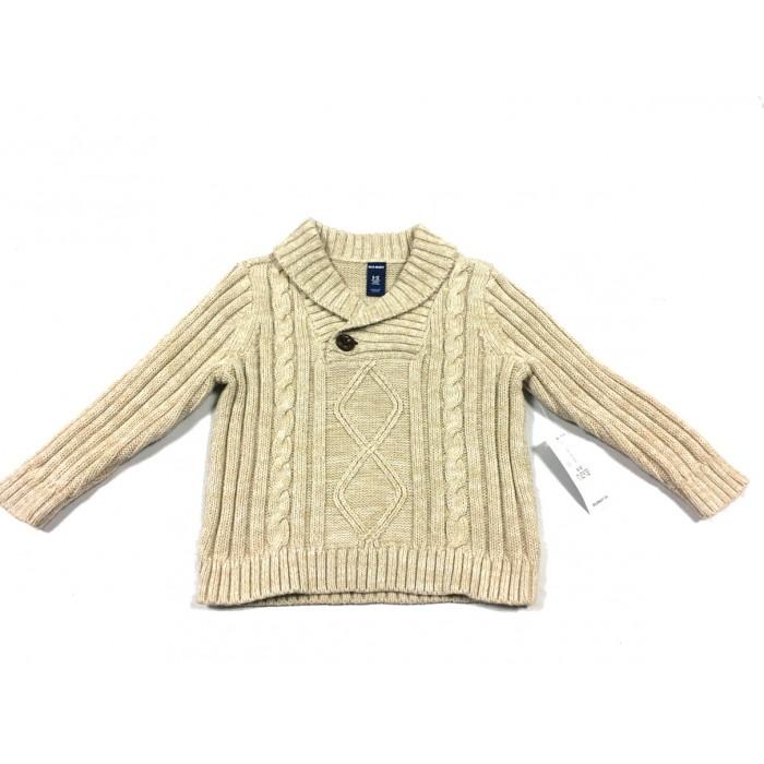 chandail lainage / 6-12 mois