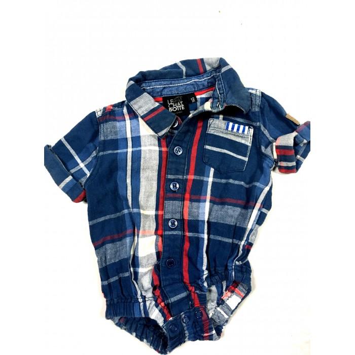 cache couche chemise / 12 mois