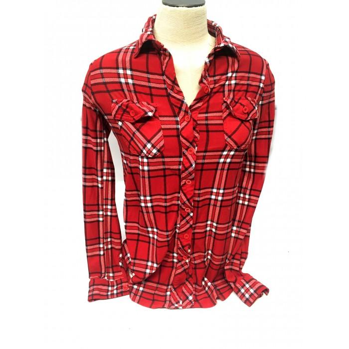 blouse carreaux / small