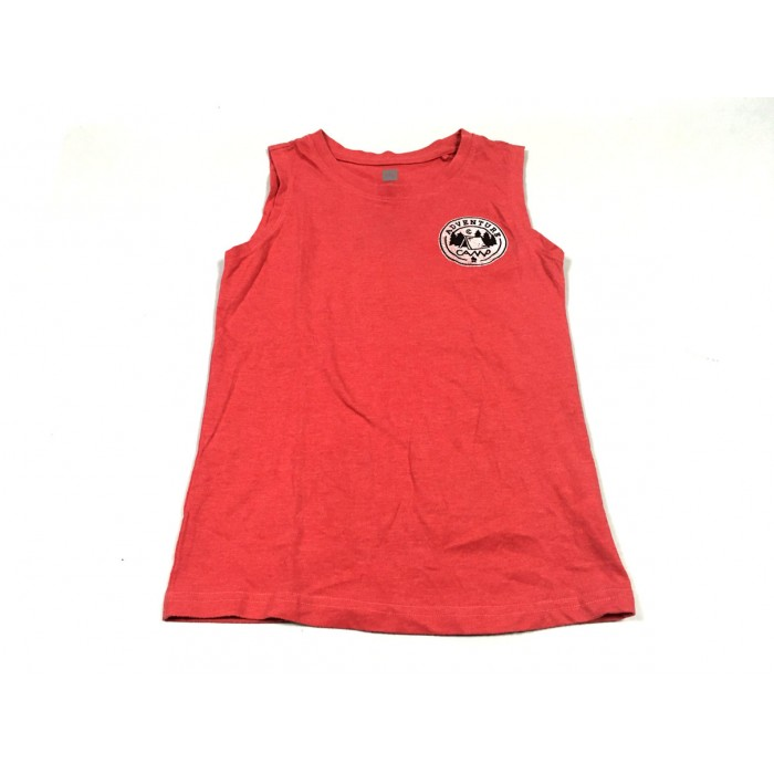 camisole rouge / 10 ans