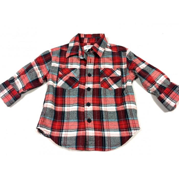 chemise carreaux / 12-18 mois