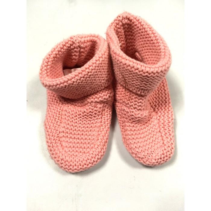 petite pantoufle tricot / 0-6 mois