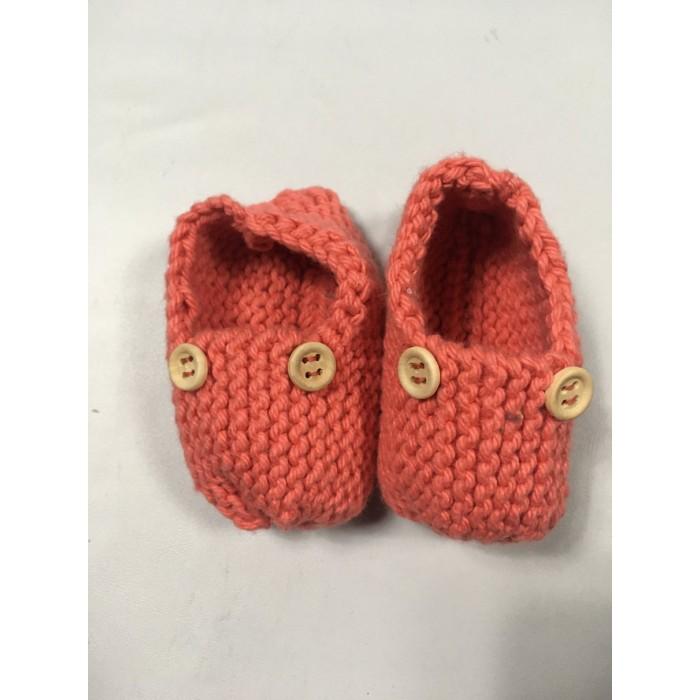 pantoufle tricot / 0-3 mois