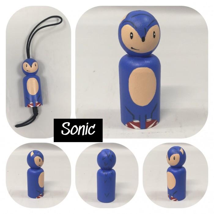 Poupée de bois / Sonic / Zipette