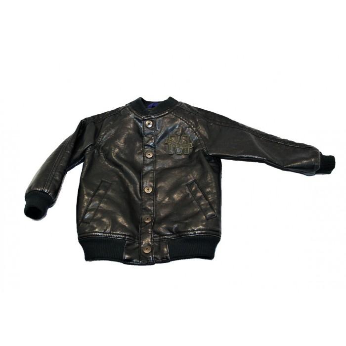 manteau cuir mexx / 12-18 mois