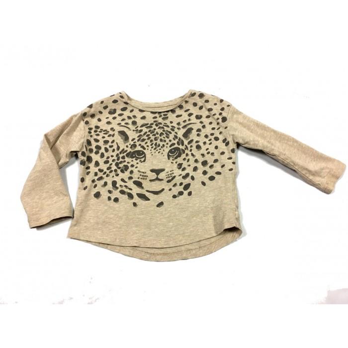 chandail léopard / 1-2 ans