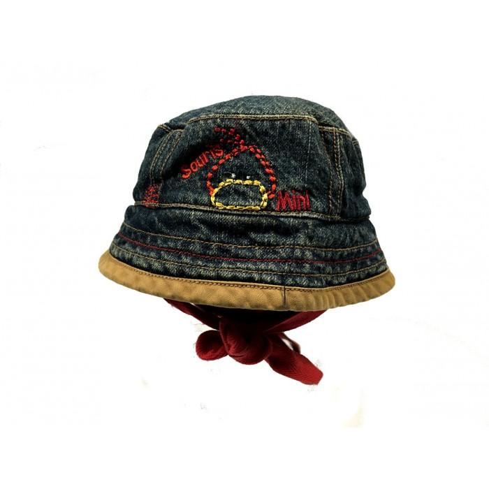 chapeau jeans souris mini / 3 mois