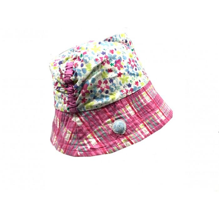 chapeau de soleil fleuris / 2-3 ans