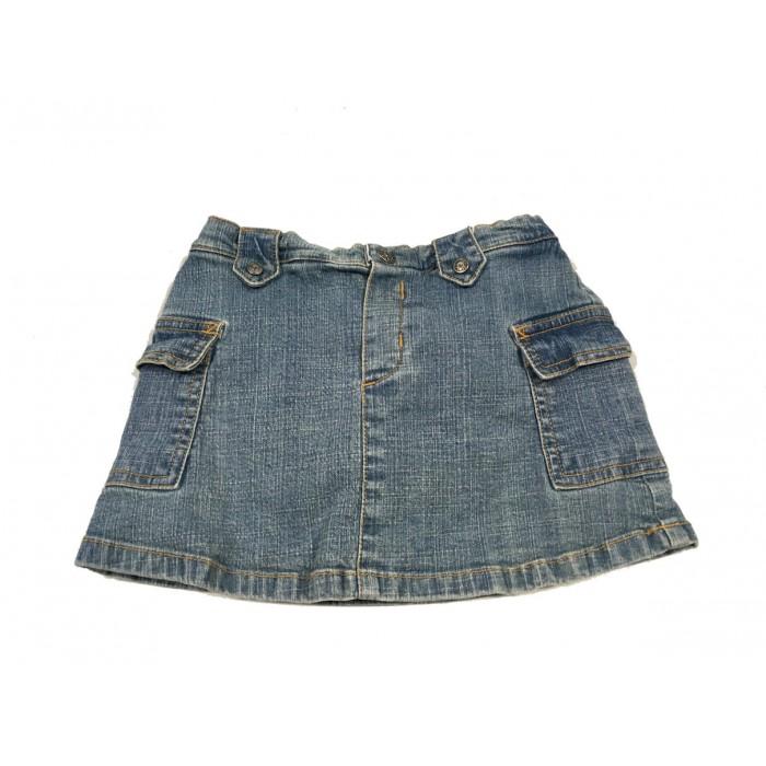 jupe culotte jeans / 24 mois