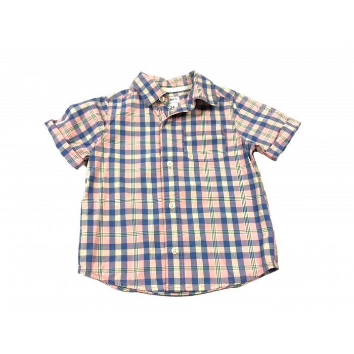 chemise a carreaux / 24 mois