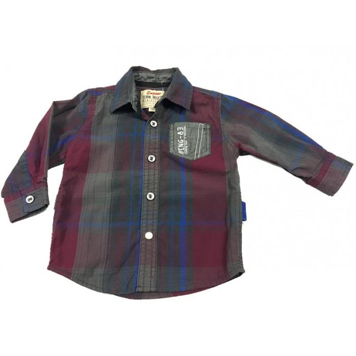 chemise a carreaux / 9 mois