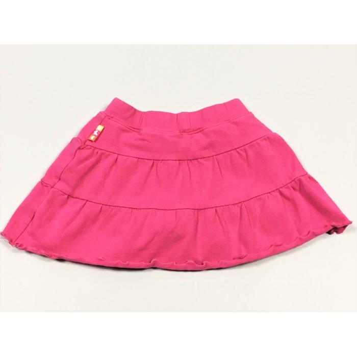jupe coton rose / 12 mois