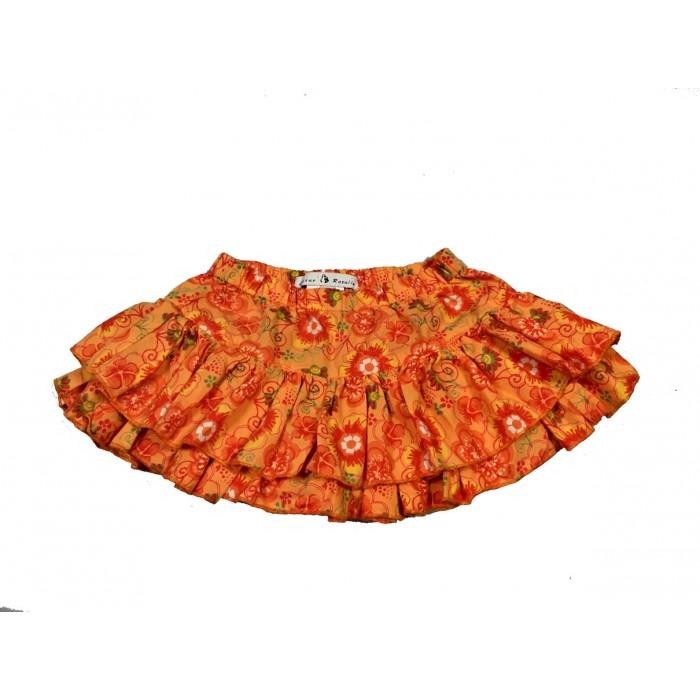 jupe culotte fleuris / 18 mois