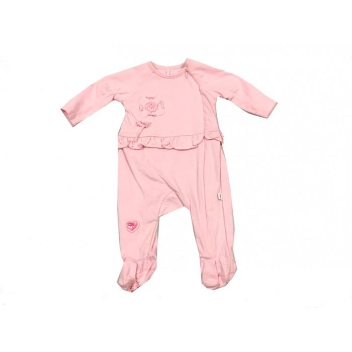 pyjama rose souris mini / 0-3 mois