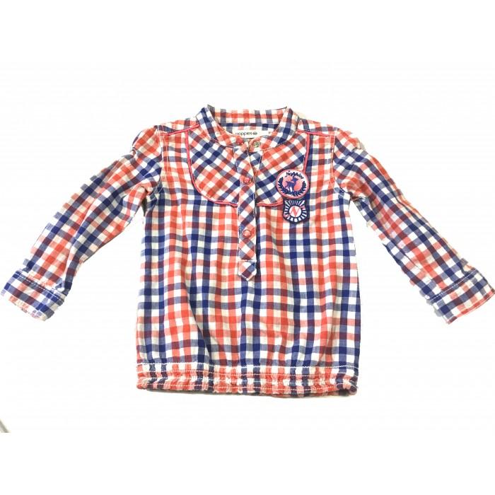 chemise carreaux / 12 mois