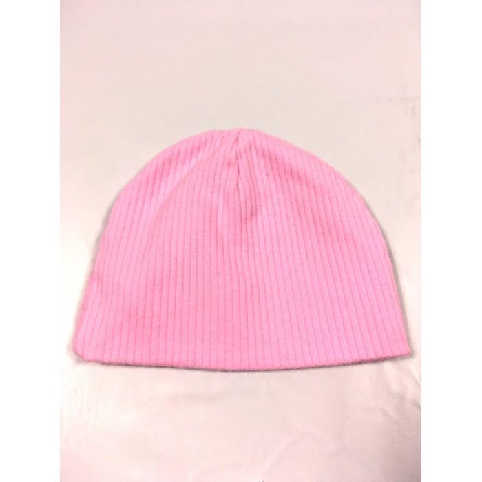 bonnet rose / 0-6 mois