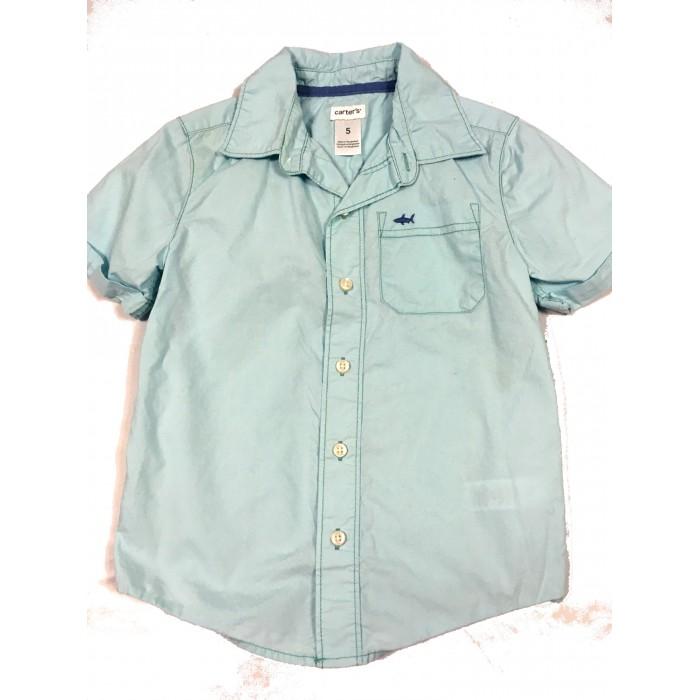 chemise bleu / 5 ans