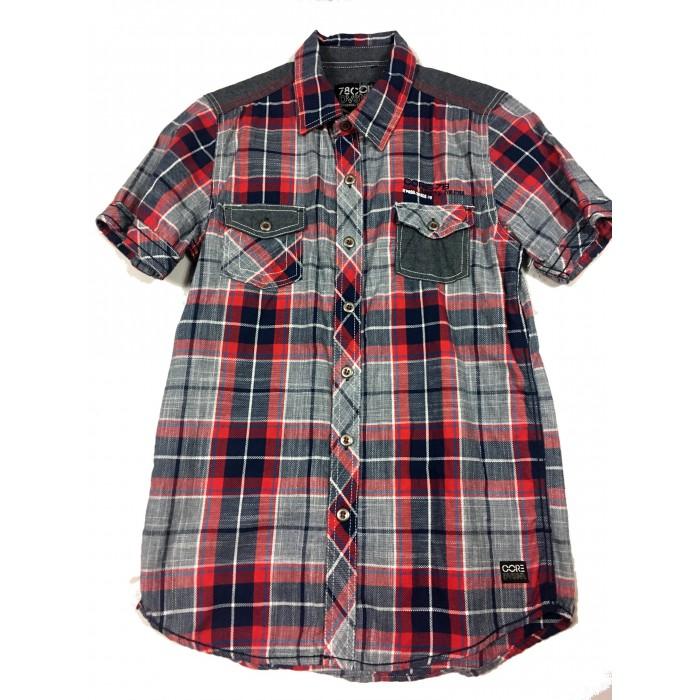 chemise carreaux / 14 ans